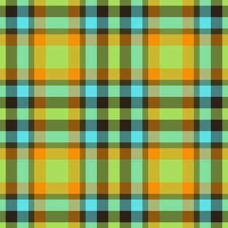 Colorful seamless plaid pattern