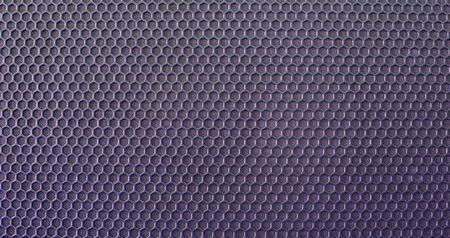The metal mesh. Background. Texture for design. Blue tint