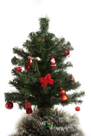 christmas tree isolated on white background Stock Photo - 5587208