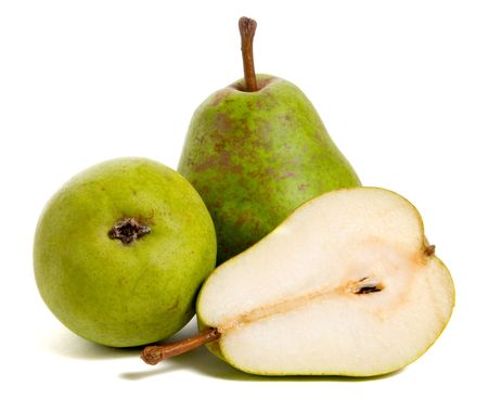 ripe pears isolated on white background Stock Photo - 5820138