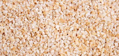 malted: malted barley food background Stock Photo