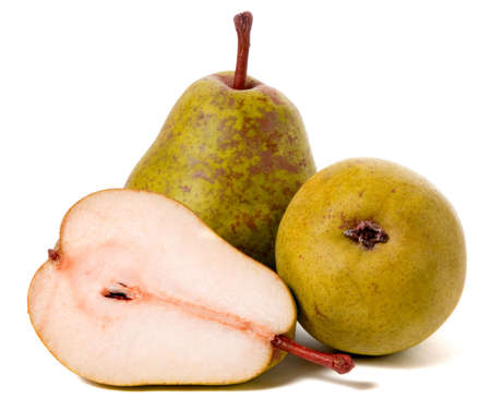 ripe pears isolated on white background Stock Photo - 6026148