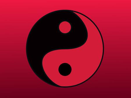 mind body soul: Eastern symbol of harmony. yin yang