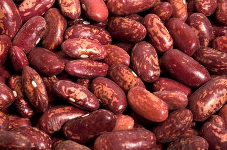 haricot: Red haricot beans - food background