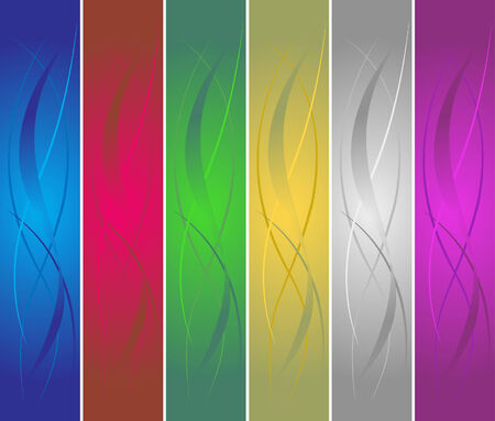 wawe: vector colorful banners