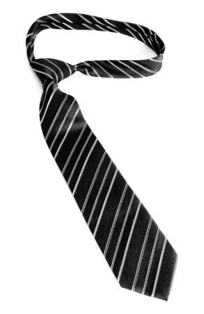 Neck tie isolated on white background photo