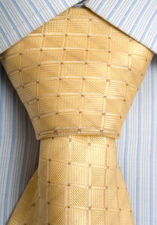 shirt and fashion yellow tie Stock Photo - 6383244