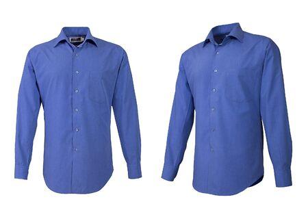 niewidoczny: niebieskÄ… koszulÄ™ na niewidocznej manekin Zdjęcie Seryjne