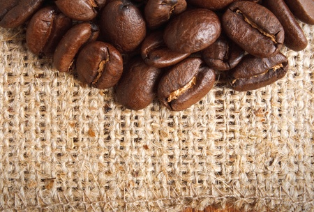 coffe beans: coffe beans on textile