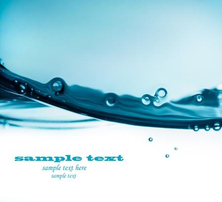 Blaue Wasser Welle Standard-Bild - 11341813