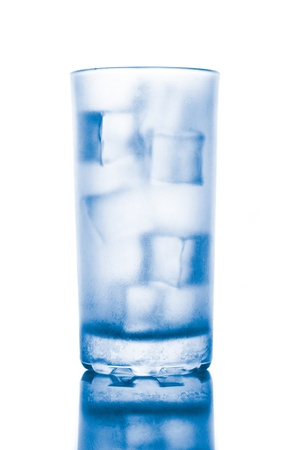cold drink with ice in glass Stock Photo - 14258562