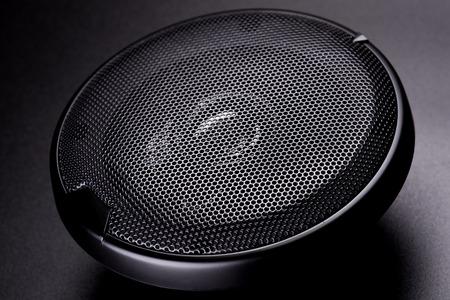 black speaker for car photo