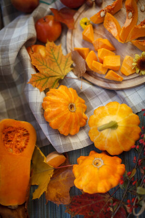 autumn fruits photo