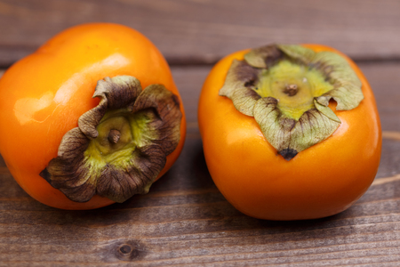 persimmons: persimmons Stock Photo