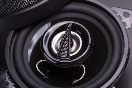 sub woofer: audio speakers Stock Photo