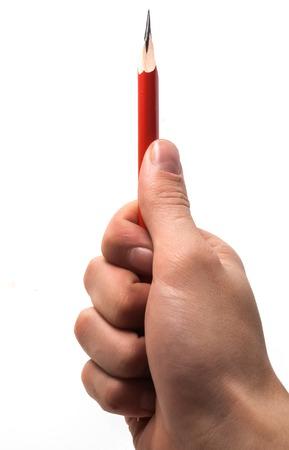 rood potlood Stockfoto