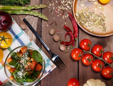 farm fresh: ripe salad