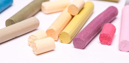 chalks: pastel chalks