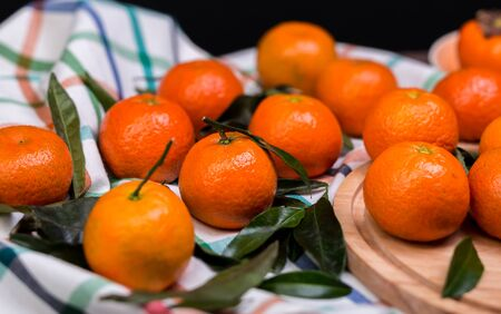 tangerines: brunch of tangerines
