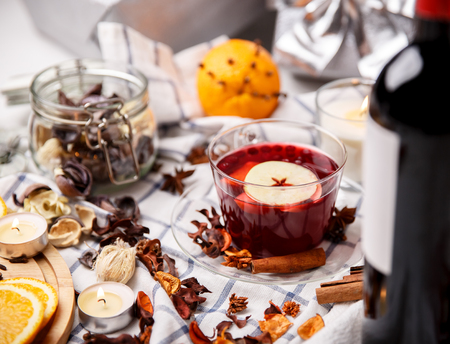 hot drink: mulled wine