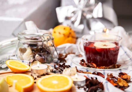 hot drinks: mulled wine