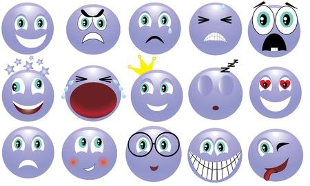 изумление: икона с изображением различных эмоций