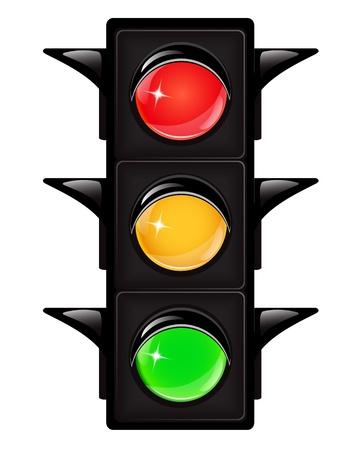 значок светофор: