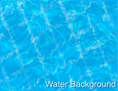 achtergrond-blauw water met rimpelingen in het zwembad