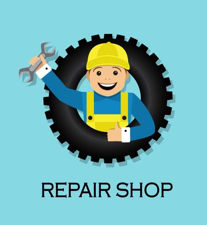 repair shop: emblem repair shop