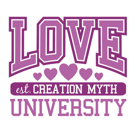 love message: Love University coat of arms