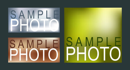 placeholder: Sample photos for placeholder text Illustration