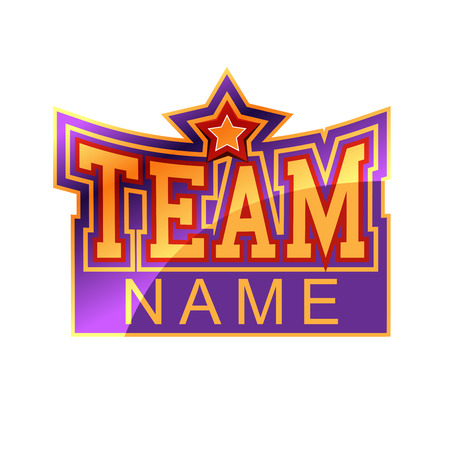 Team sign Vector