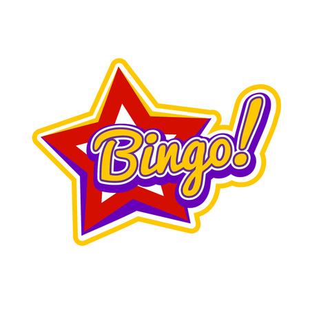 Bingo Sign Vector