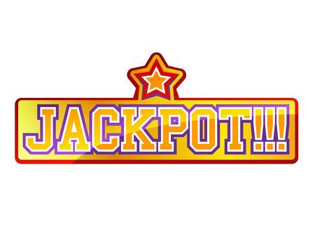 jackpot: Jackpot Sign Illustration