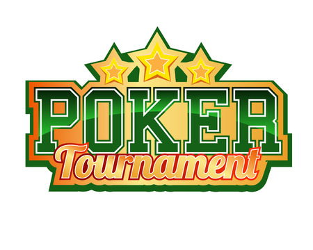 Poker Tournament Header Vector