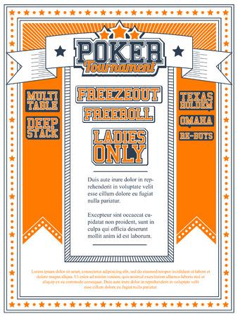 Poker Tournament Invitation