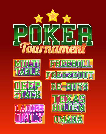 hold'em: Poker Tournament Set