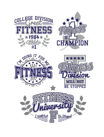 the varsity: Fitness Varsity Set