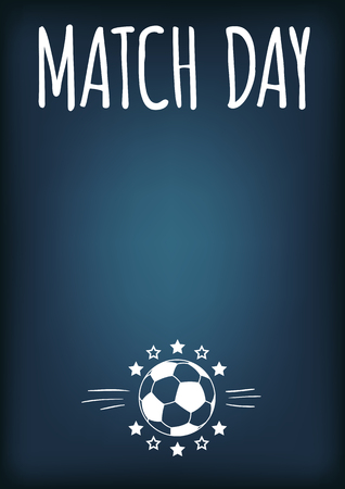 a4 background: Bright Blue Soccer Theme Editable Background Layout