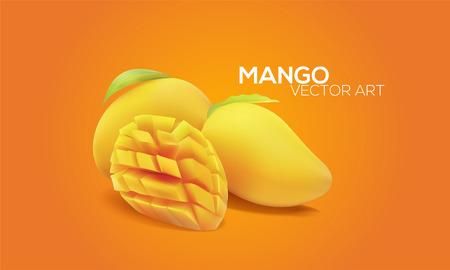 Mangoes in Art 向量圖像