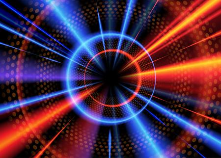 Radial Light Effect