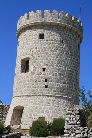 tower in Cres, Croatia, island Cres photo