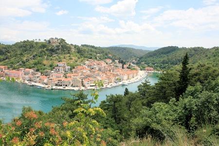 Croatia, Novigrad near Novigrad sea 版權商用圖片
