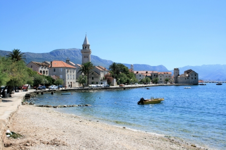village in Kastela, Croatia photo