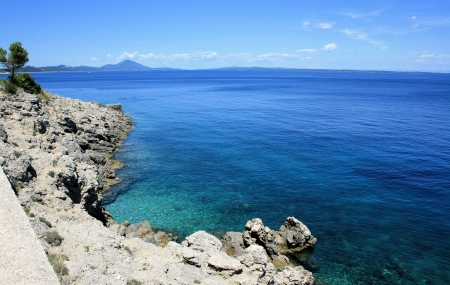 Veli Losinj in Croatia 版權商用圖片