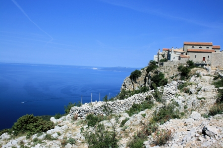 Lubenice on the island Cres, Croatia photo