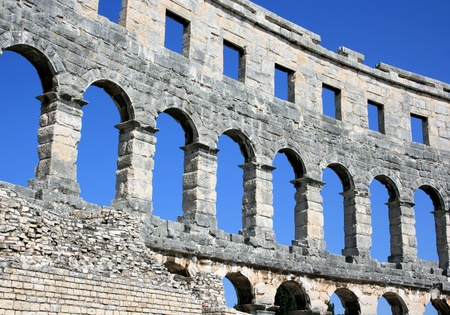 arena in Pula, Croatia photo