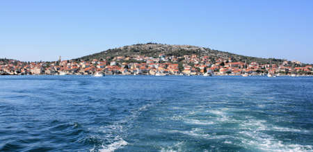 murter: leaving Murter for Kornati islands, Croatia