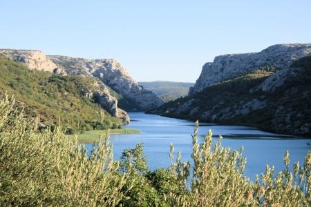 lake Visovac, national park Krka,Croatia photo