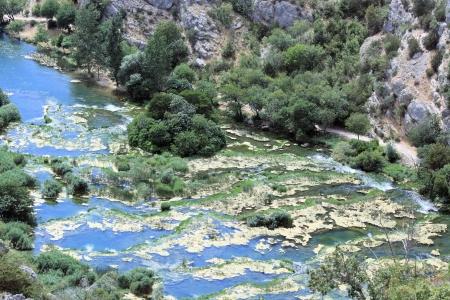 national park Krka near Roski slap,Croatia photo